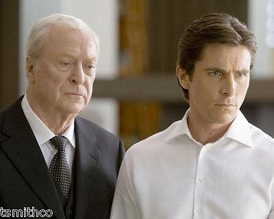 Christian Bale Michael Cane Batman The Dark Night 8x10 Photo 008