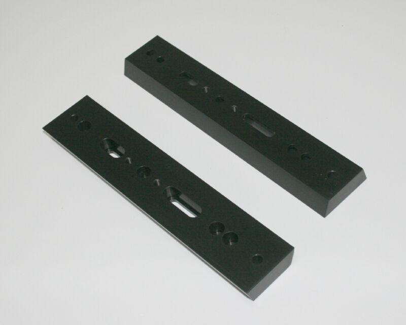 "ScopeStuff #EQD7 - 8.25"" Solid Aluminum Dovetail Bar 0.590"" Thick, Holes & Slots"