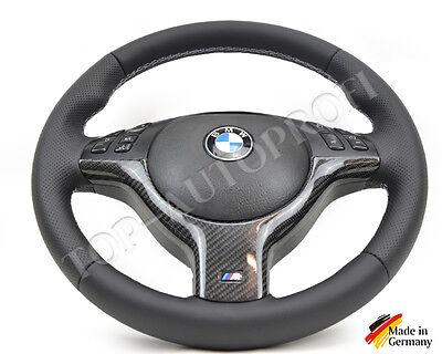 BMW E46 M3 E39 M5 M Paket Lenkrad Lederlenkrad Facelift Neu beziehen gebraucht kaufen  Hannover