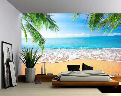 Peel & Stick Mural Self-adhesive Vinyl Wallpaper - Palm and