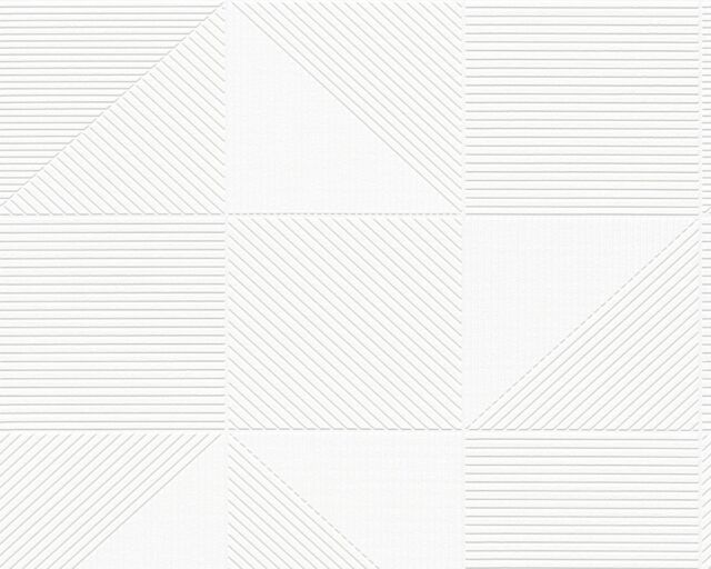 Vliestapete Werner Aisslinger A.S. Création 95582-1 Design Tapete creme/weiß (2,