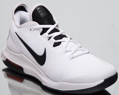 Air Max Tennis Shoes (Nike Air Max Wildcard HC Men's New White Black Tennis Shoes AO7351-100)
