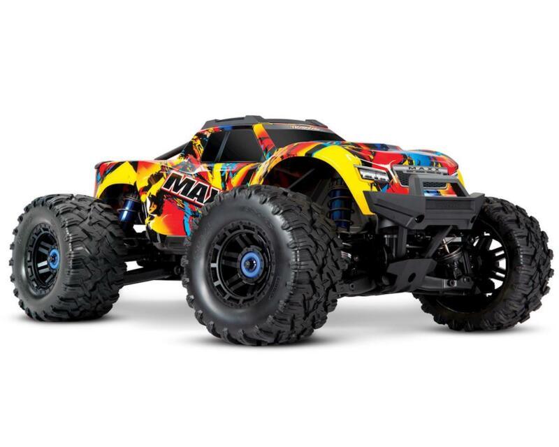 Traxxas Maxx 1/10 Brushless RTR 4WD Monster Truck (Solar Flare)