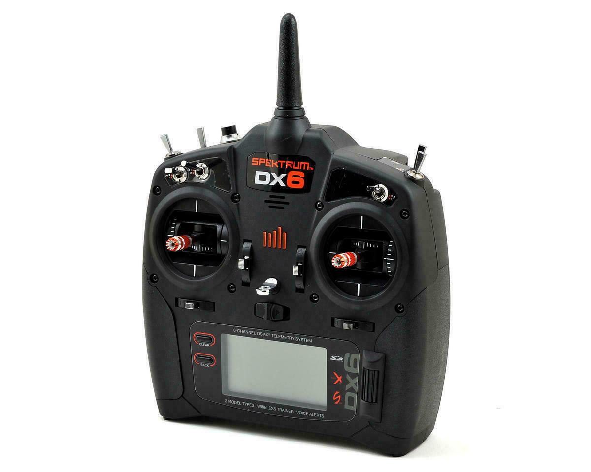 Spektrum Dx6 6 Channel Transmitter Mode 2 Radio SPMR6750