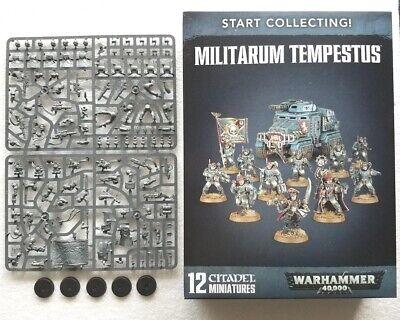 Tempestus Scions-Command Squad (5 Men), Astra Militarum, Imperial Guard, 40k NOS