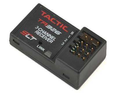 - Tactic 326 TR326 3ch 3-Channel 2.4GHZ Micro RC SLT HV High Voltage Receiver Only