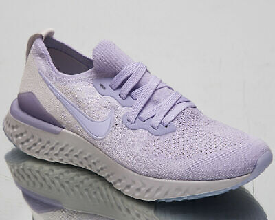 W Nike Epic React Flyknit 2 UK 6.5 EU 40.5 Lavender Mist Running Shoe BQ8927-501