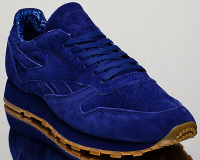 Reebok Classic Leather TDC mens casual lifestyle sneakers NEW royal blue  BD3233 ... a59affd15