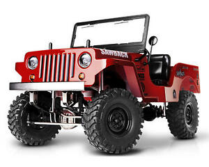 NEW Gmade Sawback 1/10 scale Jeep RC Truck Kit 52000