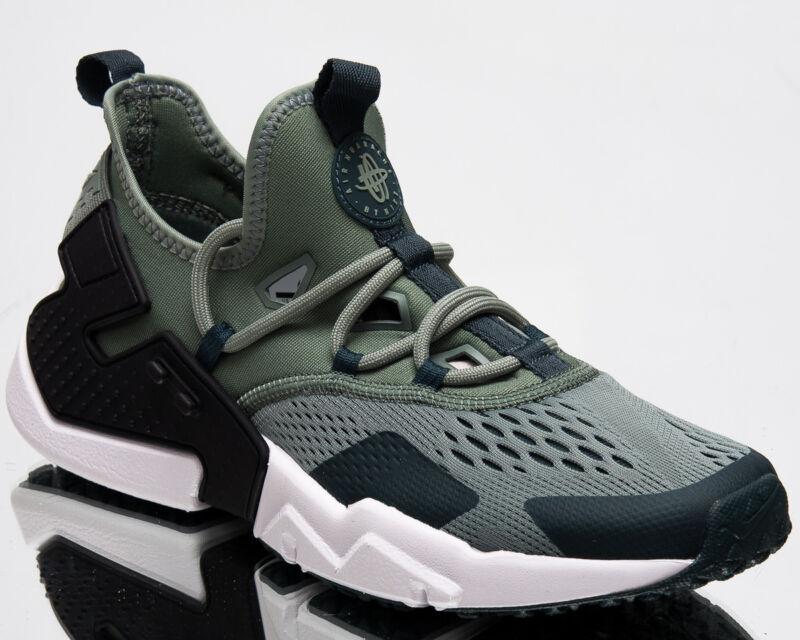 nike air huarache deriva respirare uomini scarpe nuove mens clay verde nero