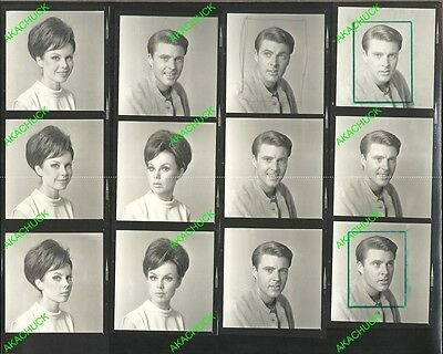 RICKY NELSON STEPHANIE HILL Contact Sheet & Negatives 1966 MELODYLAND M607