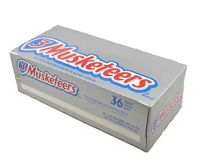 36 X Musketeers Candy Bars BULK American Import