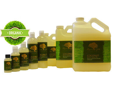 8 oz Premium Best Extra Virgin Unrefined RAW Coconut Oil 100% Pure