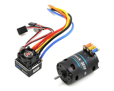 Hobbywing Js6 Combo, Justock Xr10 Esc, Sensored 21.5t G2 Motor (38020403)