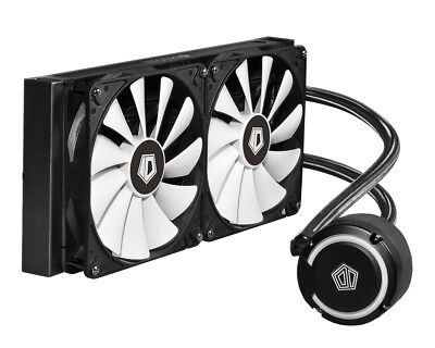 ID cooling FROSTFLOW+ 240 mm Extreme Performance All-In-One Liquid CPU Cooler -