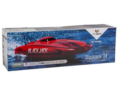 "Pro Boat Blackjack 24 RTR Ready To Run 24 Inch 24"" Catamaran RC Boat PRB08007"