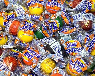 Jaw Busters Jawbreakers FIVE POUNDS Bulk Indiv Wrapped Retro Candy FREE SHIPPING](Retro Candy)