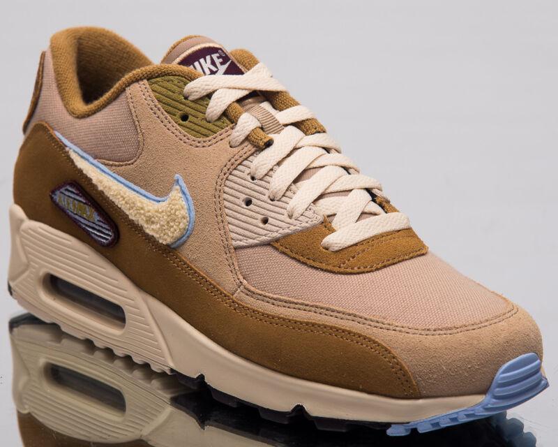 2577c21ab8 Nike Air Max 90 Premium SE Men Lifestyle Shoes Muted Bronze 2018 858954-200