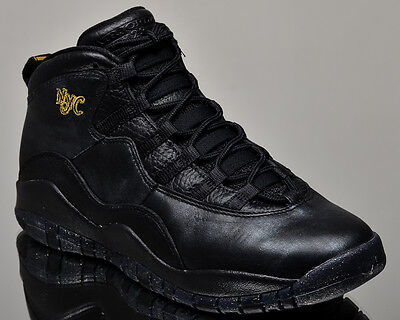 Air Jordan 10 Retro BG City Pack New York City x youth sneakers black 310806-012