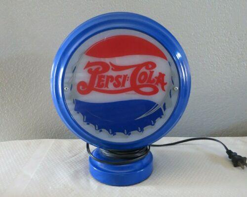 Vintage Rare Pepsi Table Top Light