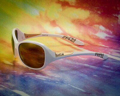 Bolle Sunglasses Grace Shiny White Rose Gold 11951 - Beautiful! - Made In Italy