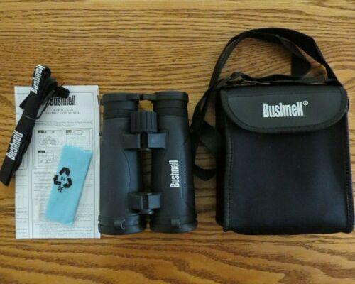 NWOB Bushnell Xtera Series Waterproof Binocular 10 x 42mm Black W/ Case & Strap