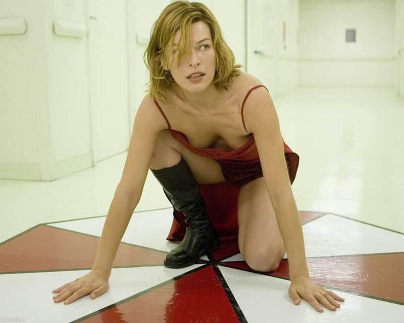 Milla Jovovich Resident Evil Scene 8x10 Photo Print