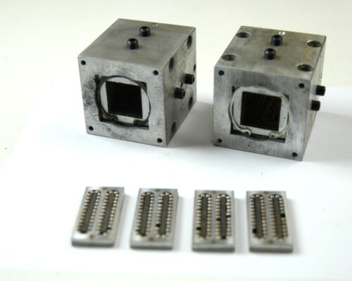 """LOT OF (2) BEARING BLOCKS FOR 1"""" SQUARE SHAFT-ADJUSTABLE  (A-5-6-5-8)"""