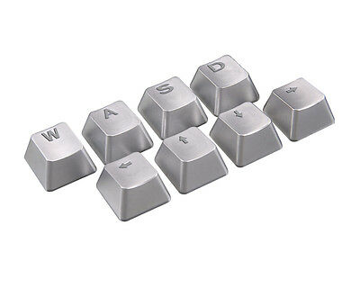 [COUGAR] METAL KEYCAPS, Mechanical Gaming Keyboard Keycaps, 8keys, CHERRY