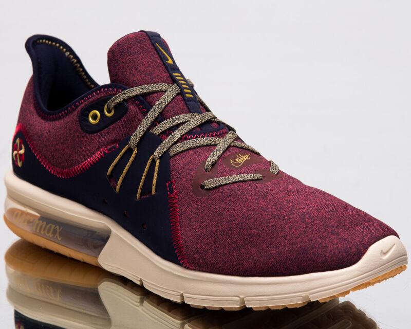 ec71700940 Nike Air Max Sequent 3 Premium VST Men Running Shoes Red Crush AR0253-600