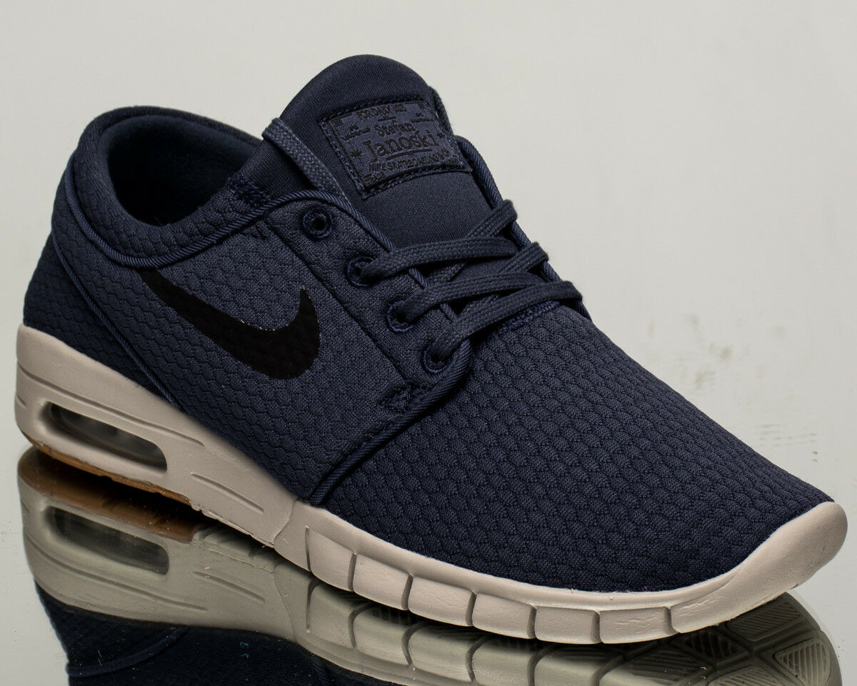 53cab8fb54 Nike SB Stefan Janoski Max air men lifestyle sneakers NEW blue black  631303-402 for sale online
