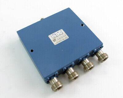 Mac Technology 4-way Power Divider Pa8202-4r 0.5-1 Ghz Type-n To Sma F
