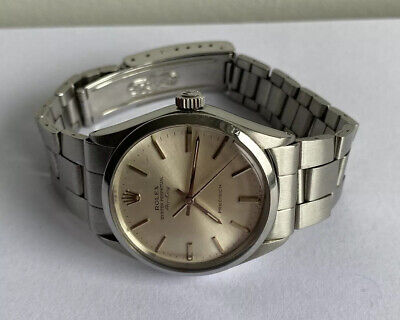 Mens Rolex Oyster Perpetual Air-King Precision 5500 Automatic Watch 1973