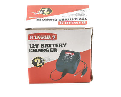 - New Hangar 9 12V 12 VOLT 600mAh RC Lead Acid AC Battery Charger HAN103