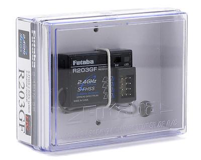 Futaba R203GF 3ch 2.4ghz RC Remote Control FHSS RX Receiver 4YFG 6J 3PL 2PL