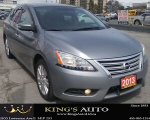 2013 Nissan Sentra SL LOADED!!! BACKUP CAM