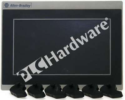 Allen Bradley 2711r-t7t A Panelview 800 Color Hmi Touch Screen