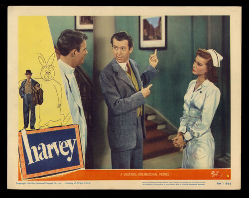 HARVEY (1950) Original Lobby Card