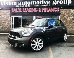 2011 MINI Cooper Countryman S ALL4|RARE 6SPD|NAV|DUAL SUNROOF|LE