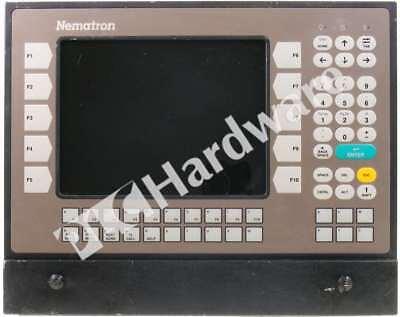 Nematron Icc-5000-cnc Industrial Control Computer Keypad Windows 95 90-264v