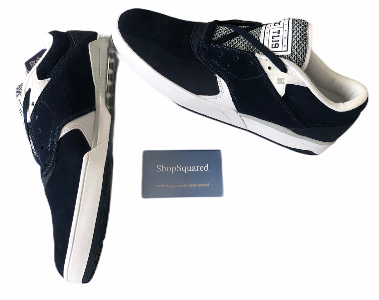 tiago s suede navy blue skate shoes