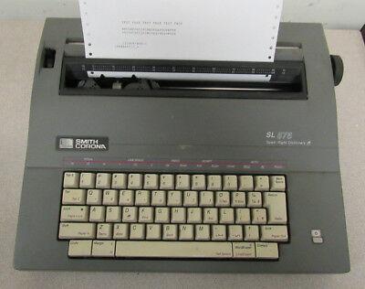 Smith Corona Sl575 Spell Right Dictionary Typewriter