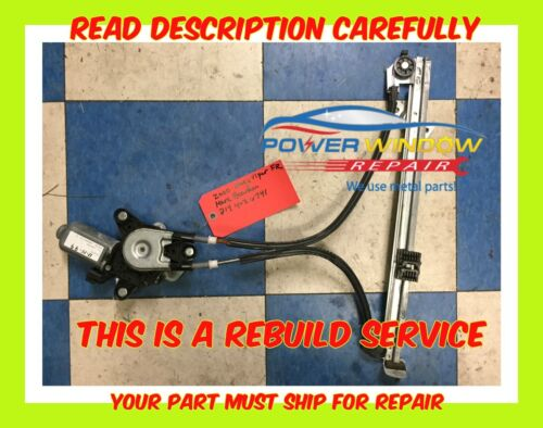 96-02 Dodge Viper Window Regulator Rebuild Service - Lifetime Warranty