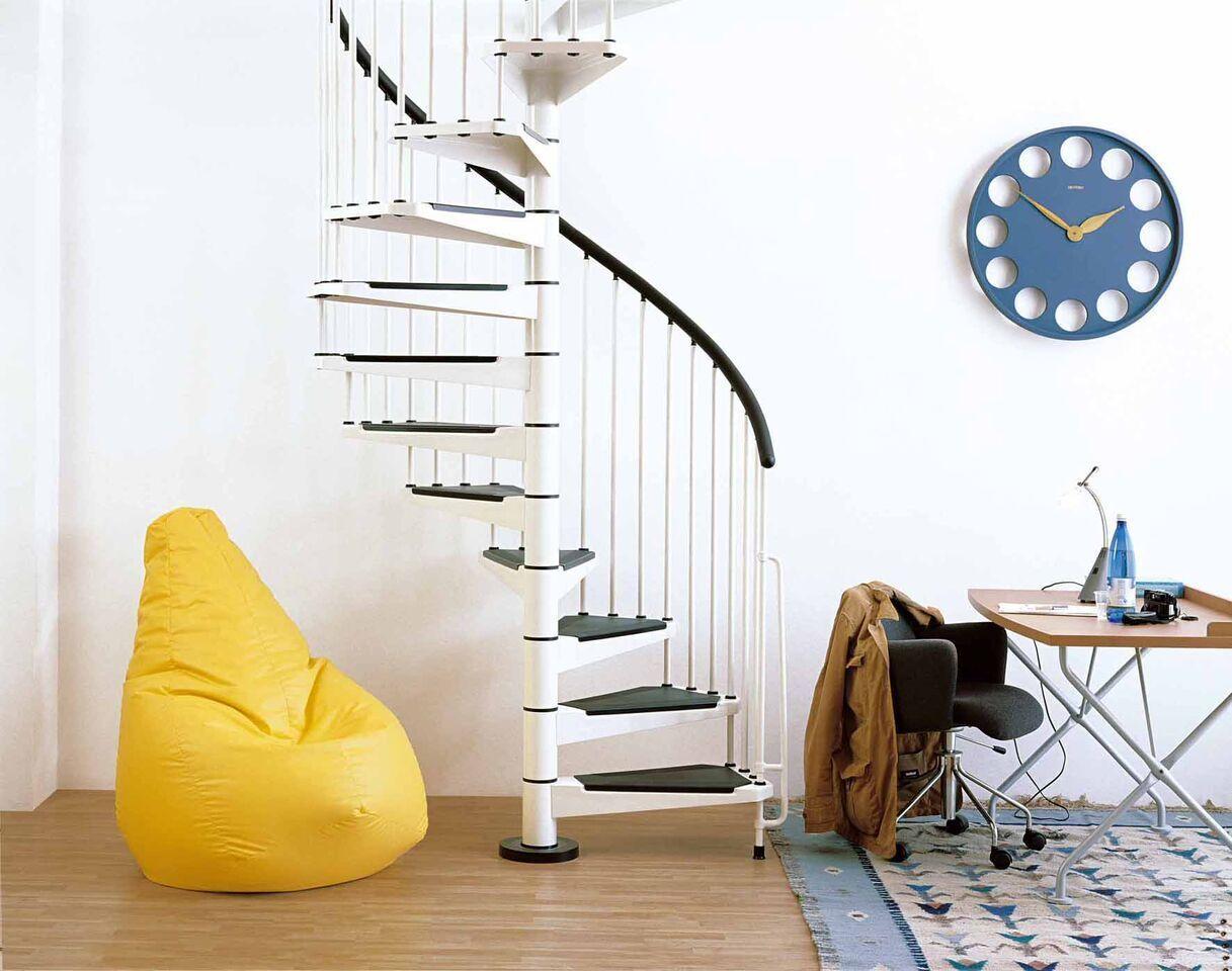Arke Fontanot Civik Spiral Staircase DIY Stair Kit 120,140 ...