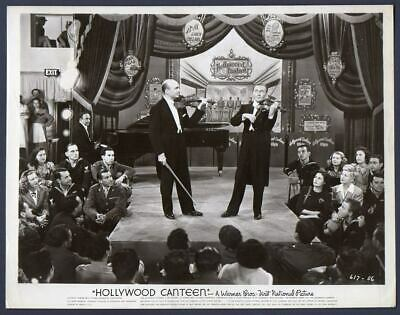 Violinist JOSEF SZIGETI JACK BENNY Performing In HOLLYWOOD CANTEEN Orig Photo - $29.95