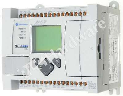 Allen Bradley 1763-l16bbb B Micrologix 1100 Controller 24v Dc 16-p Frn 9