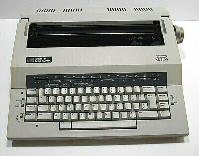 Smith Corona Spell Right I Dictionary Xe 5100 Word Processor Typewriter Portable