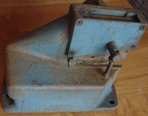 """Roper Whitney Rockford IL No 38 Shear 3/16"""" Capacity Bench Tool"""