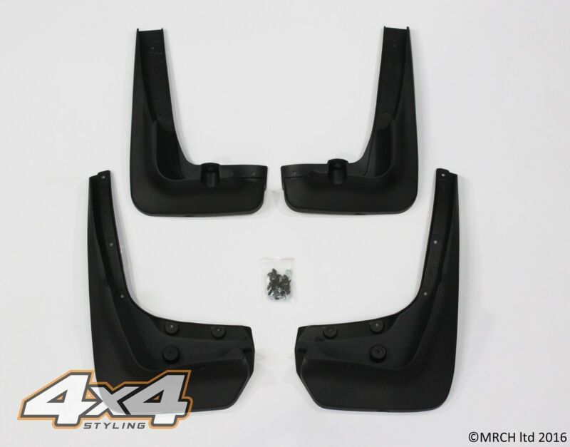 For BMW X6 E71 E72 2008 - 2014 Mud Flaps Guards Set (4 pieces)