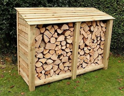 Log Store, Heavy Duty Pressure Treated